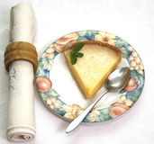 Пирог лимона Стоковое Изображение RF