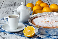 Пирог лимона Стоковое фото RF