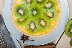 Пирог и специи пирога кивиа Стоковые Фотографии RF