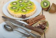 Пирог и специи пирога кивиа Стоковое Фото