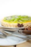Пирог и специи пирога кивиа Стоковая Фотография RF