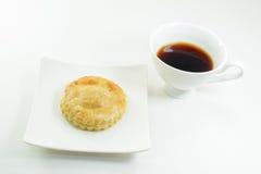 Пирог и чашка тунца Стоковые Изображения RF