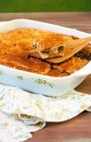 Пирог капусты и мяса Стоковое фото RF