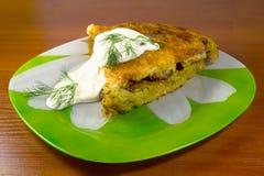 Пирог картошки и мяса Стоковые Изображения RF