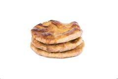 Пирог картошки на белой изолированной предпосылке, Стоковое Изображение RF