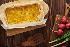 Пирог картошки стоковые фотографии rf
