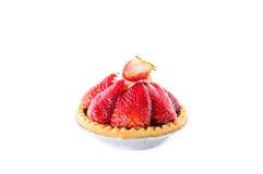 Пирог клубники Стоковые Изображения