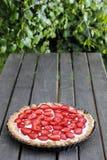 Пирог клубники стоковое изображение