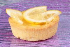 пирог лимона плодоовощ миниый Стоковая Фотография RF