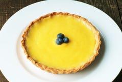 Пирог лимона Стоковые Фото