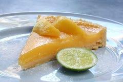 пирог лимона Стоковые Фотографии RF