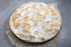 Пирог меренги лимона Стоковое Изображение