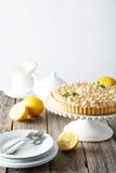 Пирог меренги лимона Стоковое Изображение RF