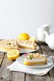 Пирог меренги лимона Стоковые Фотографии RF