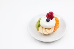 Пирог от плодоовощ Стоковое Фото