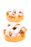 Пирог персика Стоковые Фото