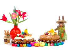 пирог печенья пасхи праздничный Стоковое Изображение RF