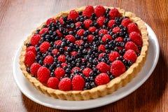 Пирог пирога плодоовощ Стоковое Изображение