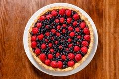 Пирог пирога плодоовощ Стоковое Изображение RF