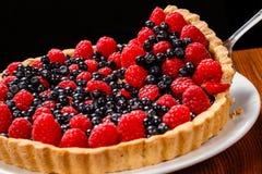 Пирог пирога плодоовощ Стоковая Фотография