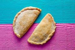 Пирог пирожка карамельки Cajeta мексиканца с сахаром Стоковое Изображение