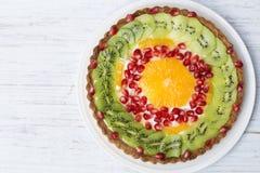 Пирог плода стоковая фотография rf