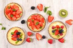 Пирог плодоовощ ягоды Стоковые Изображения RF