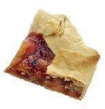 Пирог плодоовощ изолированный на белизне Стоковая Фотография RF