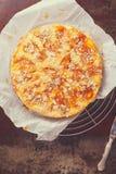 Пирог плодоовощ и миндалины Стоковые Изображения