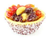 Пирог расстегая свежих фруктов Стоковое Фото