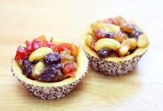 Пирог расстегая свежих фруктов Стоковая Фотография RF