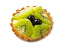 Пирог свежих фруктов Стоковая Фотография