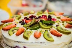пирог свежих фруктов Стоковые Изображения RF