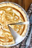 Пирог свирли плавленого сыра тыквы Стоковая Фотография RF