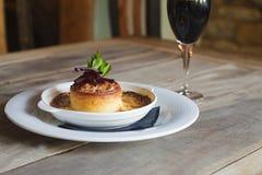 Пирог сыра и бураков Стоковая Фотография RF