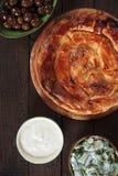 Пирог сыра печенья Phyllo Стоковое Фото