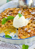 Пирог с мороженым Стоковые Изображения RF