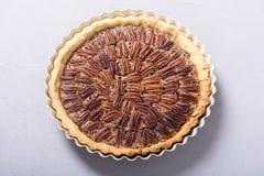 Пирог с орехами осени американский стоковое изображение