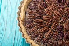 Пирог с орехами осени американский стоковые фото
