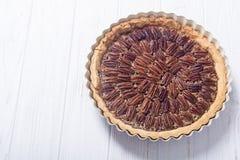 Пирог с орехами осени американский стоковая фотография rf