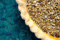 Пирог с орехами Стоковое Фото