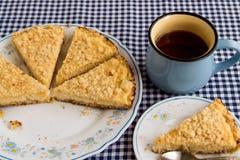 Пирог творога Стоковое Фото