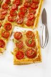 Пирог томата Стоковое фото RF