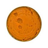 Пирог тыквы заполняя в раскрытое может Стоковое Изображение