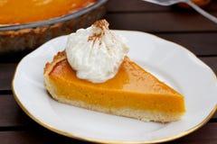 Пирог тыквы Хоккаидо Стоковое Фото
