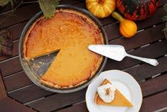 Пирог тыквы Хоккаидо Стоковое Изображение