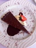 Пирог фундука шоколада Стоковая Фотография