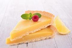 Пирог цитруса лимона Стоковое Изображение RF