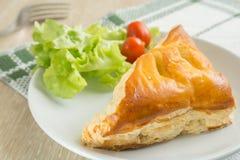 Пирог цыпленка стоковое фото rf