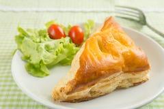Пирог цыпленка стоковое изображение